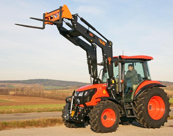 ciągnik na 10 hektarów - Kubota M7060