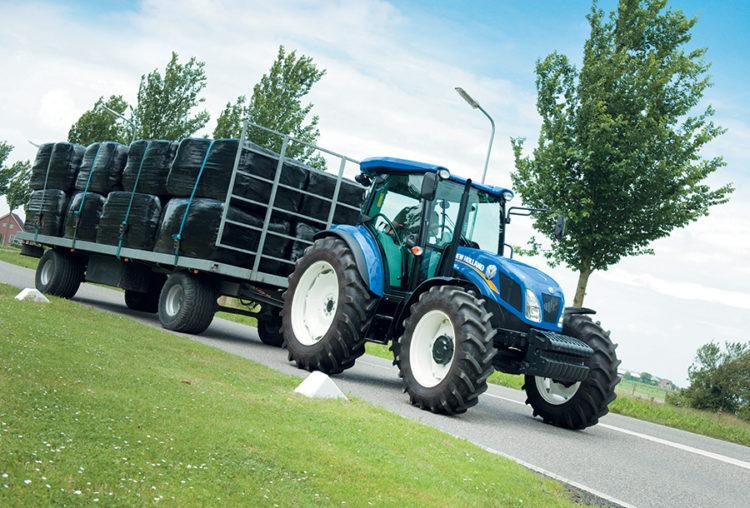 średnia moc ciągnika - New Holland TD5.105