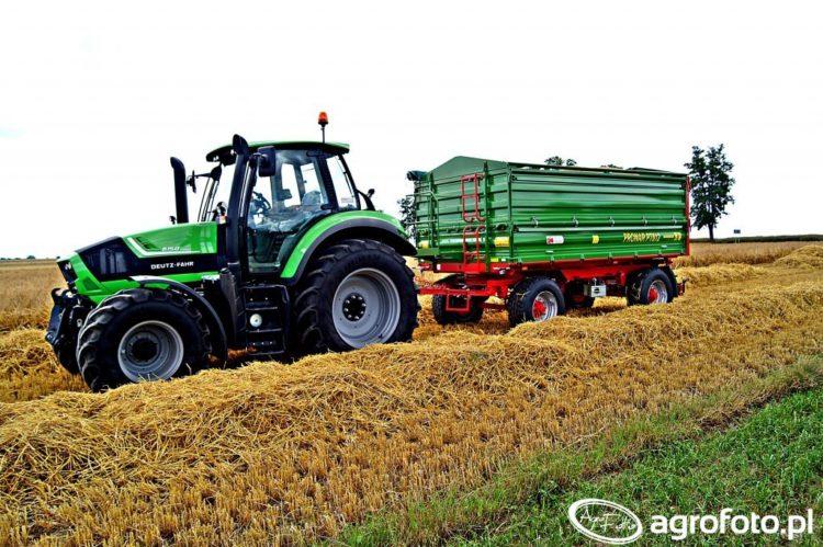 sprzedaż przyczep rolniczych we wrześniu