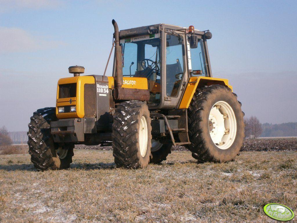 ciągniki 90-100 KM używane Renault 110.54