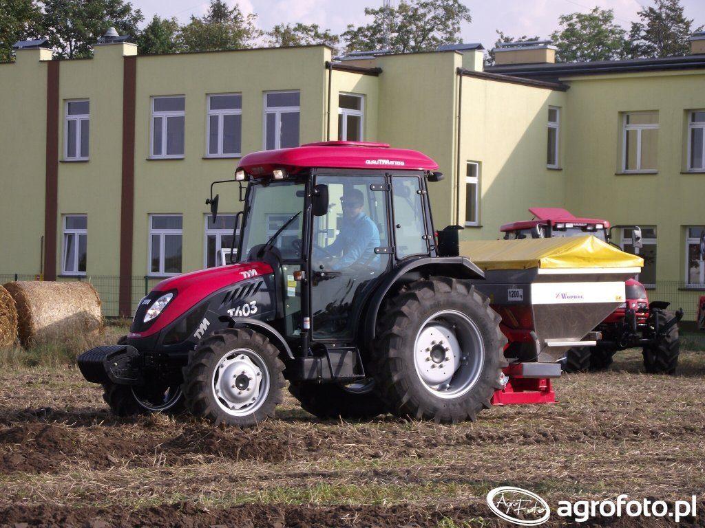 ciągnik na 10 hektarów - TYM T603