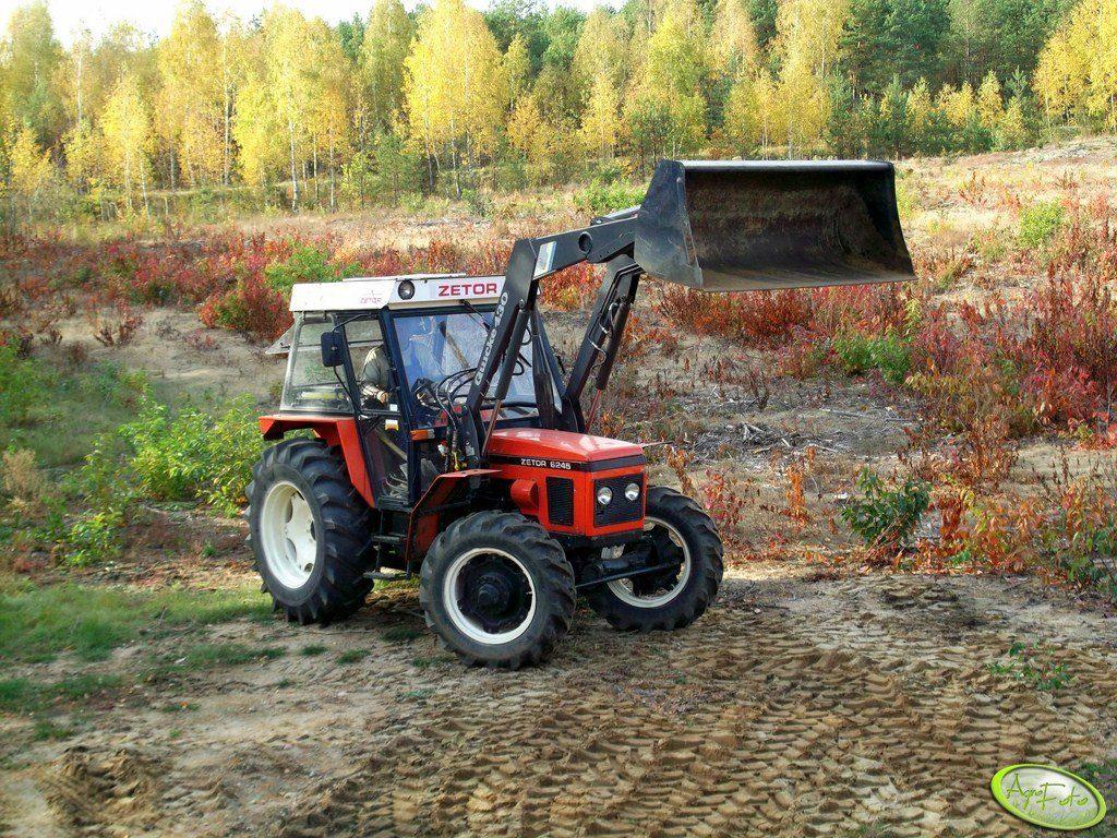 ciągnik na 10 hektarów - Zetor 6245