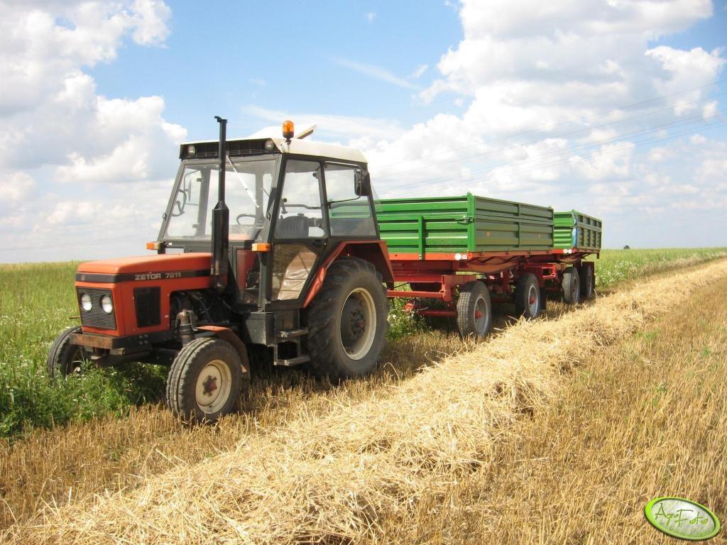 ciągnik na 10 hektarów - Zetor 7211