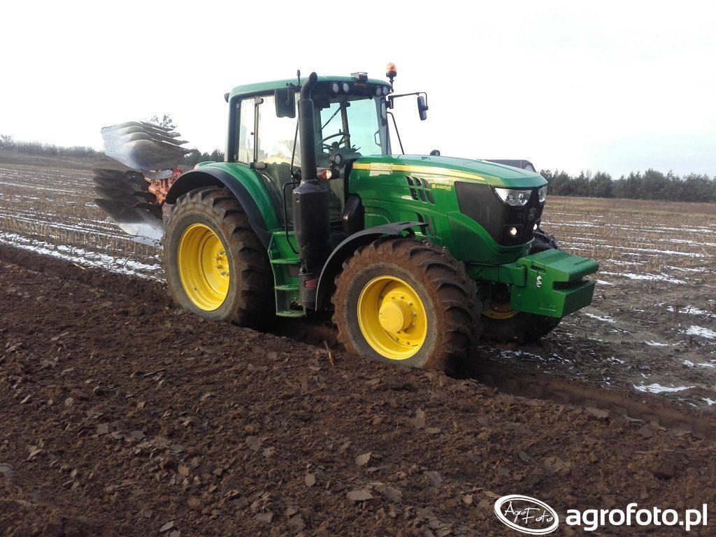 Sprzedaż ciągników rolniczych John Deere 6155M