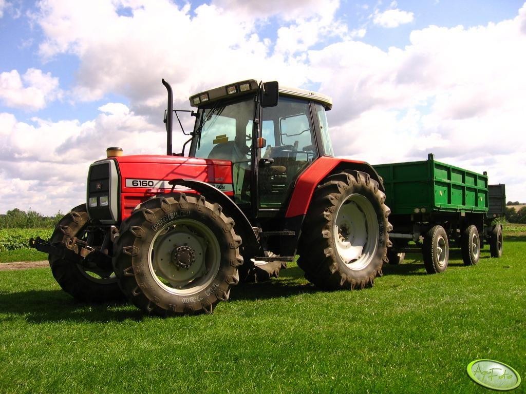 Ciągniki używane 90-100 KM Massey Ferguson 6160
