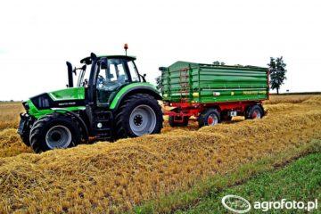 Przyczepy rolnicze 10-12 t Pronar PT612
