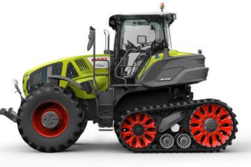 Claas Axion 900 Terra Trac Agritechnika 2017