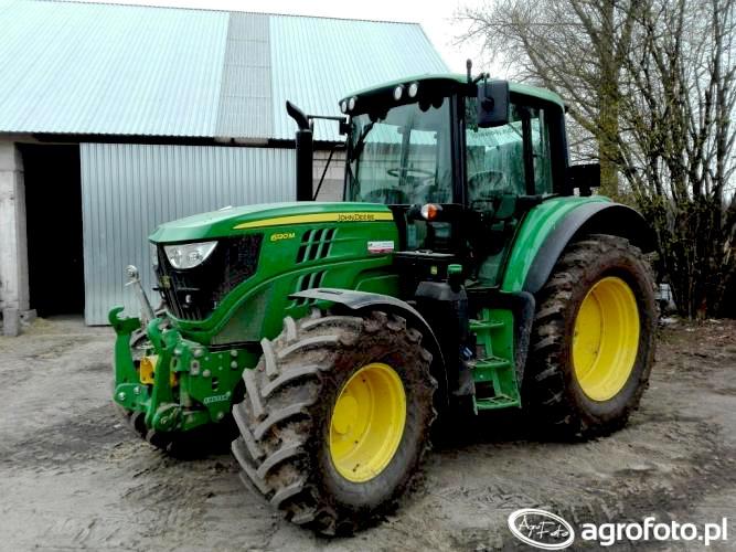 John Deere 6120M / agrofoto.pl Maxler