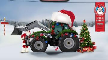 Valtra oficjalny traktor Świętego Mikołaja